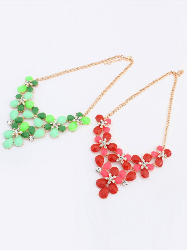 Occident New Butterfly Flowers Bohemia Hot Sale Necklace