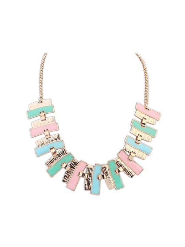 Occident New Fashionable Geometry Simple Hot Sale Necklace