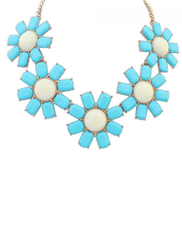 Occident Bohemia Flowers Hot Sale Necklace