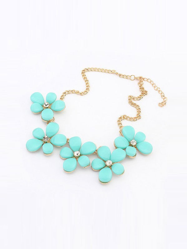 Occident Fresh Floret Sweet Hot Sale Necklace