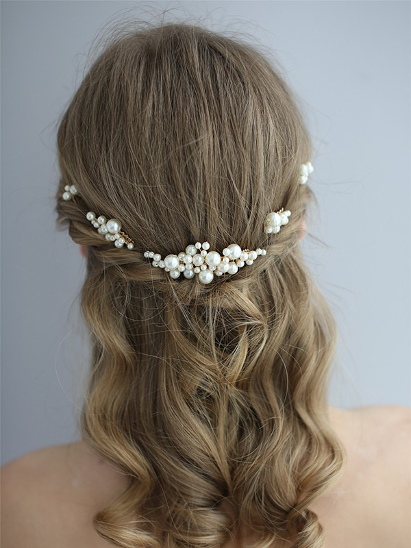Unique Pearl Headpieces