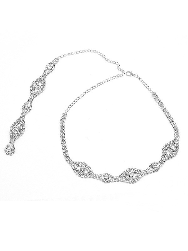 Crystal Necklaces For Wedding Bridal